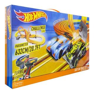 Pista Tipo Scalextric Slot Hot Wheels Challenge Level 632cm
