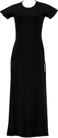 Blusa Maxi Camiseta Long Line Feminino Vestido