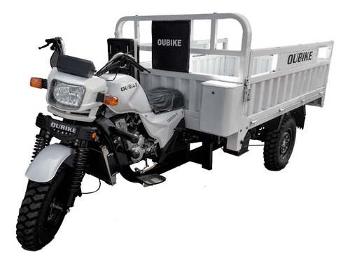 Imagen 1 de 9 de Motocarro Oubike 250 Garrafonero Purificadoras Carga 1000kg