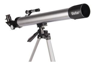 Telescopio Vivitar 60x - 120x Tripode De Aluminio Astronomia