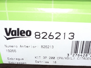 Embrague Peugeot 307 1.6 16v Valeo