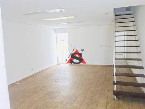Sobrado Com 3 Dormitórios, 150 M² - Venda Por R$ 800.000,00 Ou Aluguel Por R$ 3.000,00/mês - Santo Amaro - São Paulo/sp - So4205