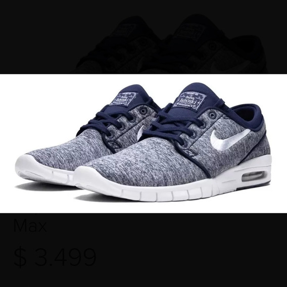 Nike Sb Stefan Janoski Max (no Jordan Ni Air Force)