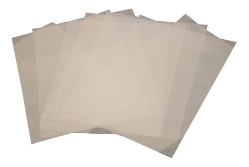 Imagen 1 de 8 de Papel Teflonado Térmico Transfer Sublimación Vinilo Estampar Antiadherente (10 Unidades A4) - Blormast