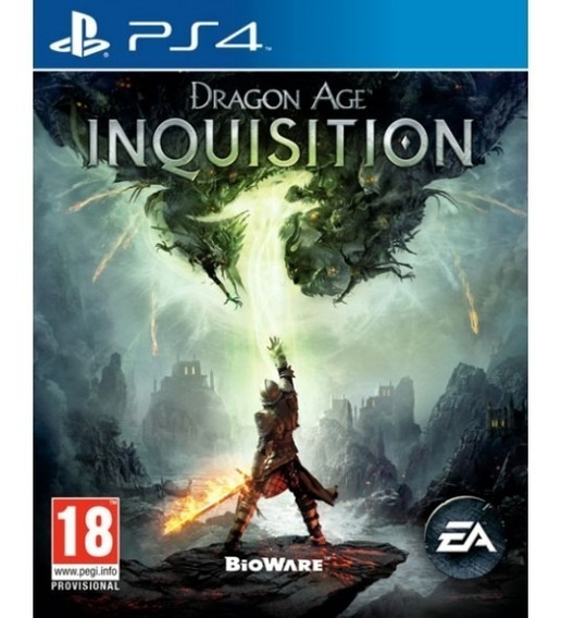 Jogo Playstation 4 Dragon Age Inquisition Ps4 Usado