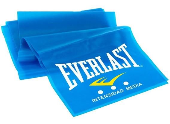 Banda Elástica Everlast 100% Latex Ther Intensidad Media