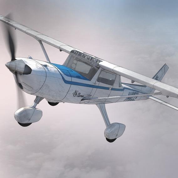 Archivos Stl De Impresión 3d - Aeroplano Cessna 152