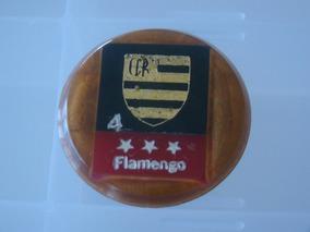Cod 018 - Botão Embandeirado Do Flamengo