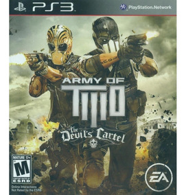 Army Of Two The Devils Cartel Ps3 Mídia Física Lacrado Novo