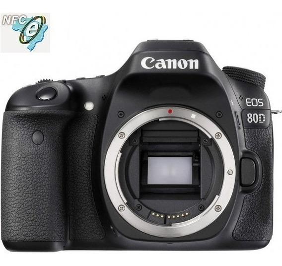 Canon Eos 80d Sensor 24.2mp, Corpo Nota Fiscal