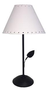 Velador Lámpara Con Pantalla Para Mesa Luz Dormitorio Cuotas