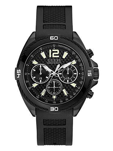 ec49a72cf489 Guess Reloj De Cuarzo Para Hombre De Acero Inoxidable Y Sil - S  743 ...