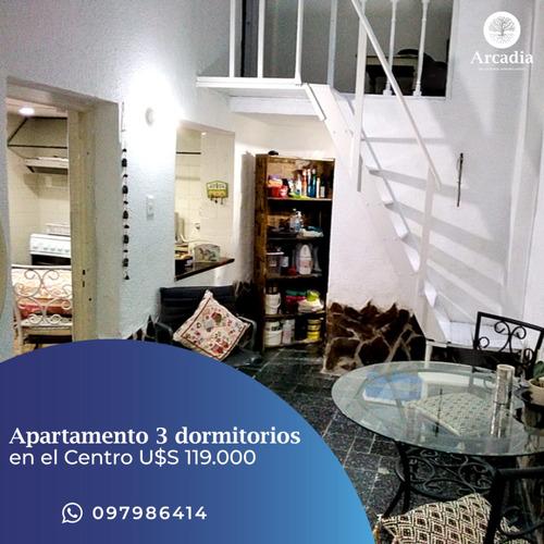 Imagen 1 de 11 de Apartamento En El Centro De Montevideo  Ejido Y Cerro Largo