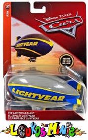 Disney Cars Blimp Balão Da Lightyear Dirigível Lacrado 14cm.