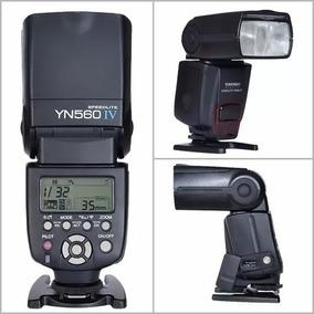 Flash Yongnuo Yn560 Iv Para Canon Ou Nikon