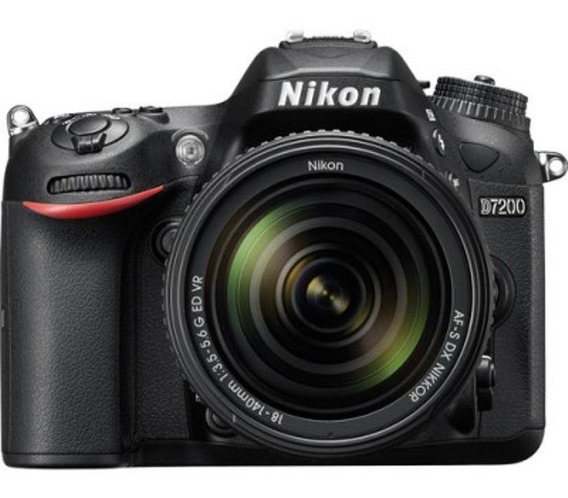Câmera Nikon D7200 C/ Lente 18-140mm