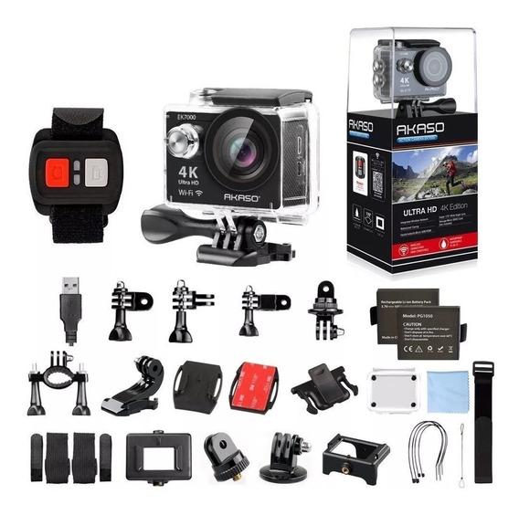 Câmera Estilo Gopro Akaso 4k Ek7000 (desconto A Vista)