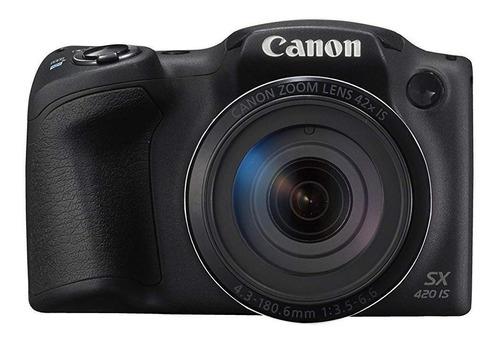 Canon PowerShot SX420 IS compacta avançada cor preto