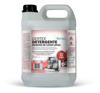 Detergente Máquina De Lavar Louça Dertex 5l Renko