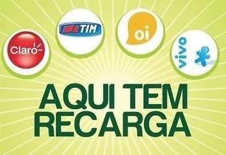 Recarga Celular Crédito Online Vivo Oi Claro Tim R$ 10,00