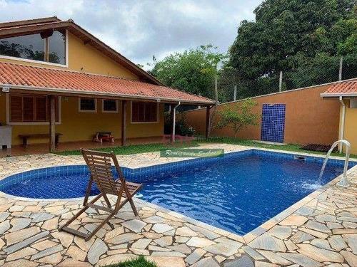 Imagem 1 de 20 de Chácara Com 4 Dormitórios À Venda, 4000 M² Por R$ 950.000,00 - Botuquera - Guararema/sp - Ch0832
