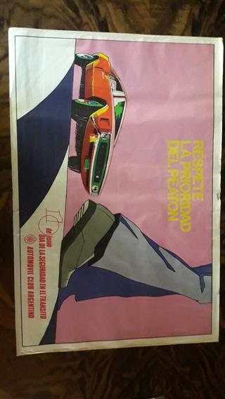 Antiguos Afiches Automovil Club Argentino