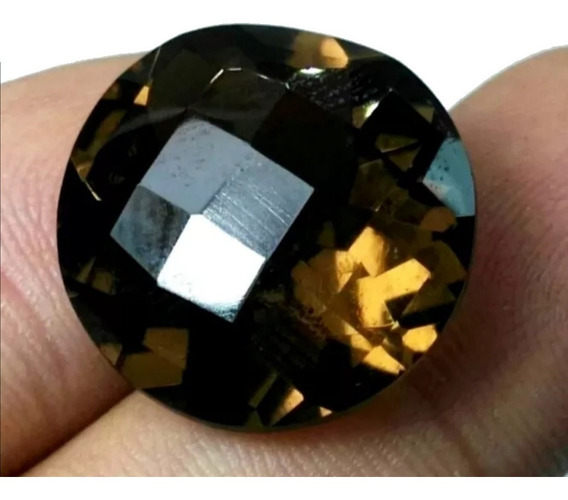 21.45ct Piedra Preciosa 100% Natural Cuarzo Ahumado Dije