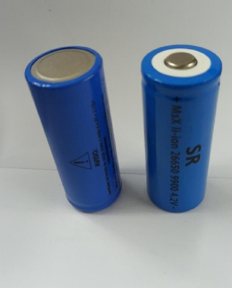 Bateria Recarregável T6-g2 26650 4.2v X899 A X999 T9