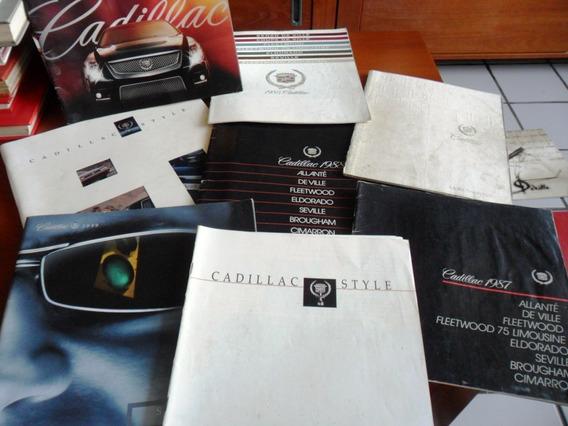 8 Catálogos - Cadillac (automóvel) Frete Grátis