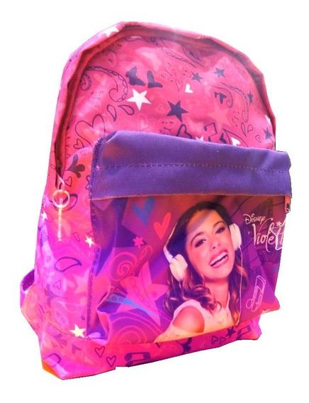 Mochila Colegial Espalda Violetta 36 Cm 6940 - Children
