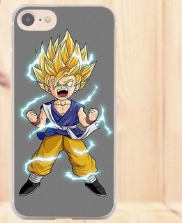 Case iPhone 6s Plus 7 8 X Carcasa Protector Goku Dragon Ball