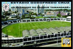 Kit 30 Postais Estádio Godofredo Cruz