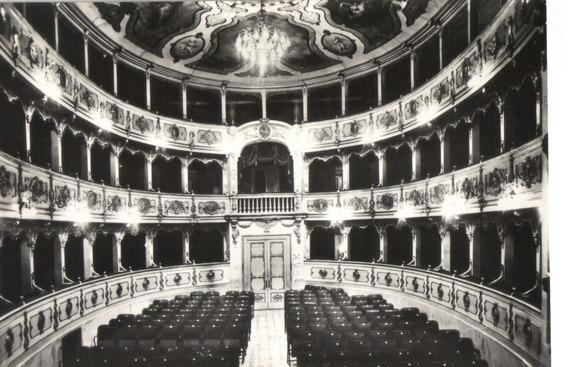 Teatro Verdi, Roncole, Bussetto, Parma Italia C 1970 Sellada