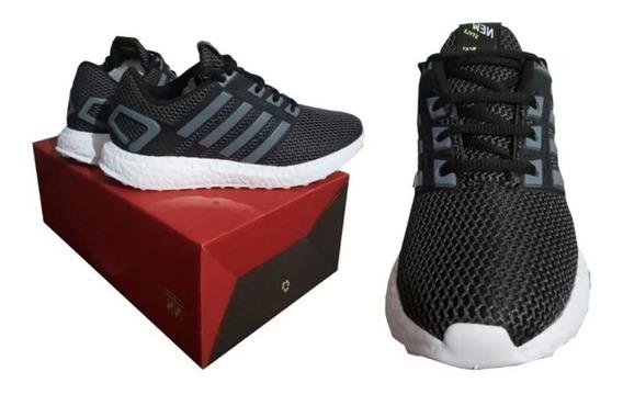 Zapatillas Deportivas New Style Run Neg Talles 35-44 Oferta