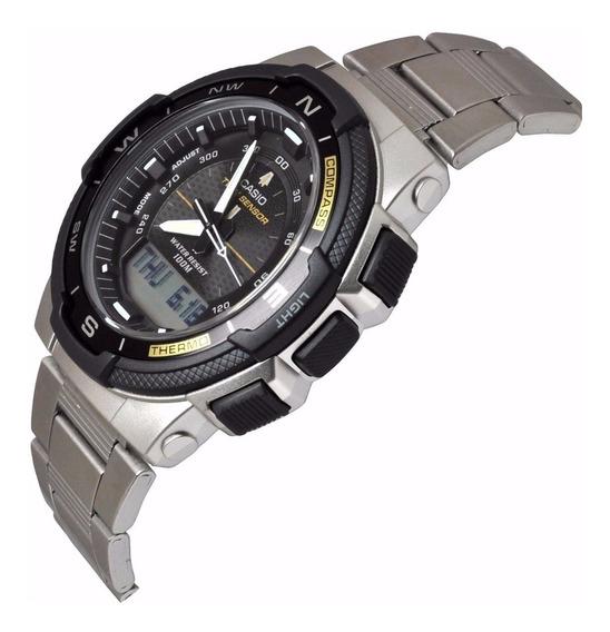 Relógio Casio Outgear Sgw-500hd-1bvdr Ana-digi Duplo Sensor