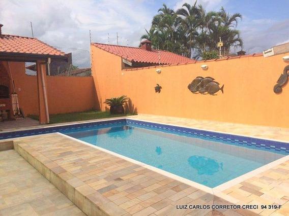 Casa Com 4 Dormitórios À Venda, 223 M² Por R$ 610.000,00 - Cibratel Ii - Itanhaém/sp - Ca0003