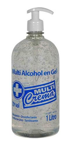 Alcohol En Gel 1 Litro Con Dispensador