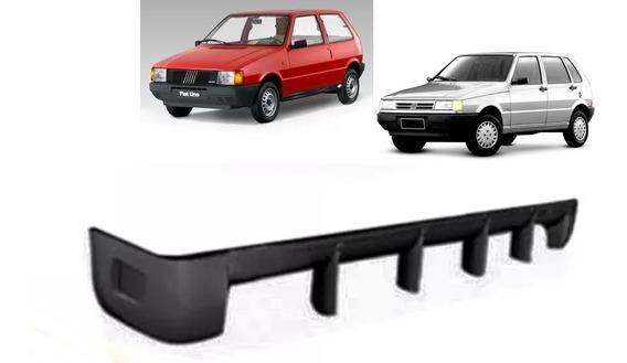 Spoiler Traseiro Fiat Uno 1990 Até 2004 - Com Extrator
