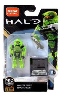Halo Megaconstrux Master Chief Overshield Serie 11 Sellado