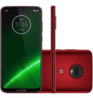 Smartphone Motorola Moto G7 Plus 4+64gb Dual Vermelho + Nfe
