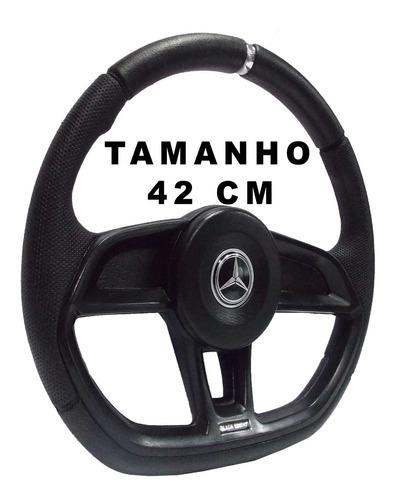 Volante De Caminhão Mb Mercedes Benz Mb 2831 Gti Black 42cm