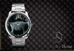 Kit 2 Relógio De Pulso Personalizado Painel Mercedes Benz