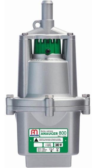 Bomba Dágua Submersa Vibratória Poço 800 5g 127v Anauger