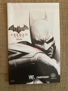Catálogo / Manual Batman Arkham City - ( No Incluye Juego)