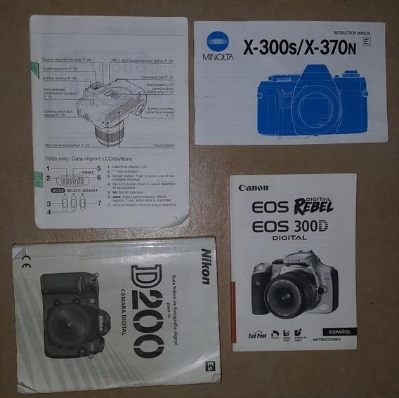 Manuales De Camaras Nikon Y Canon