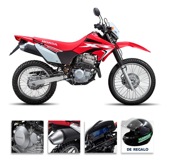 Moto Honda Xr Tornado 250 0km 2020 Rojo