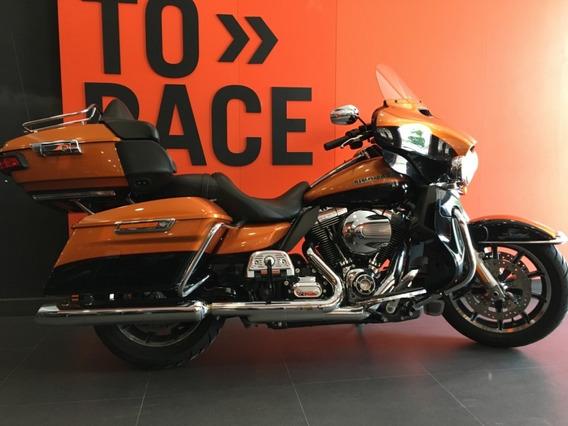 Harley Davidson - Electra Glide Ultra Limited - Laranja