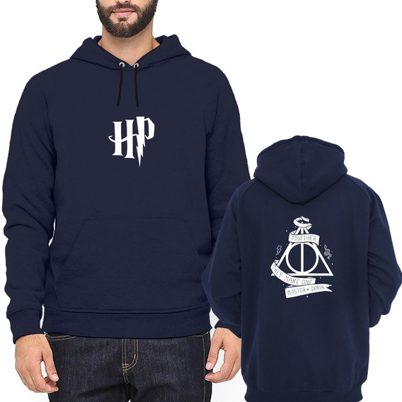 Moletom Harry Potter Together Hp Juntos Canguru Blusa #96