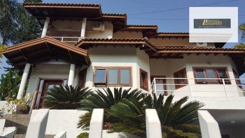Imagem 1 de 30 de Casa Com 3 Dormitórios À Venda, 350 M² Por R$ 1.450.000,00 - Condomínio Vista Alegre - Sede - Vinhedo/sp - Ca2617