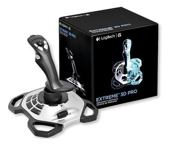 Manche Logitech Extreme 3d Pro Joystick Para Pc Usb